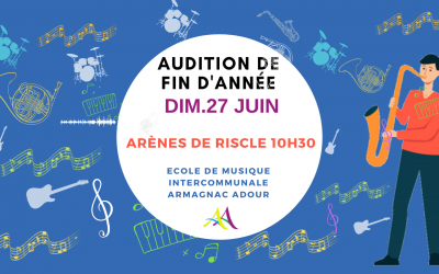 Audition – Ecole intercommunale de musique