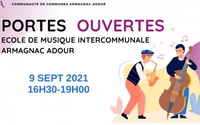 Portes ouvertes – Ecole intercommunale Armagnac Adour
