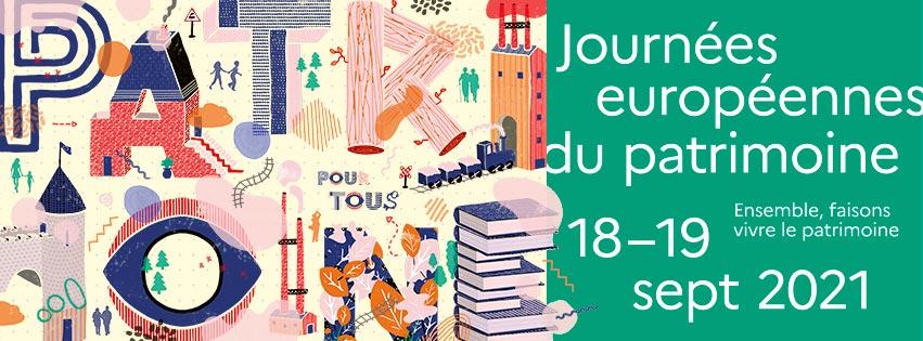 Journée européenne du patrimoine 2021